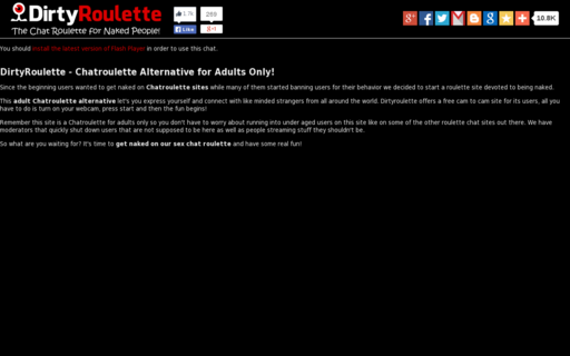 Access dirtyroulette.com using Hola Unblocker web proxy