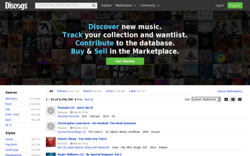 Access discogs.com using Hola Unblocker web proxy