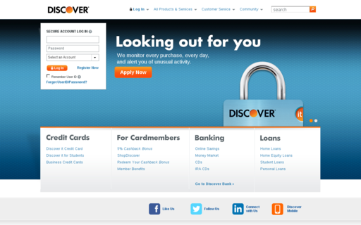 Access discover.com using Hola Unblocker web proxy