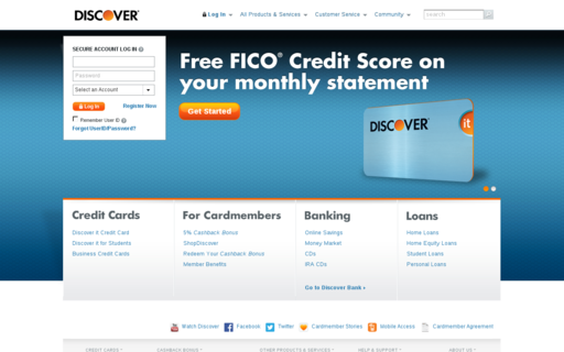 Access discovercard.com using Hola Unblocker web proxy