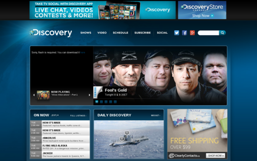 Access discoverychannel.ca using Hola Unblocker web proxy