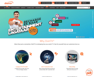 Access dishtv.in using Hola Unblocker web proxy