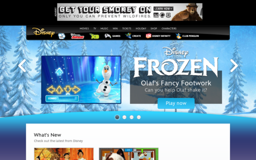Access disney.co.uk using Hola Unblocker web proxy