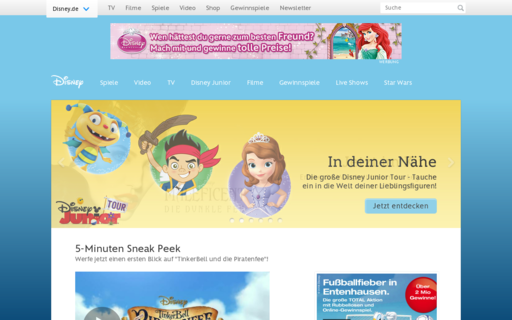 Access disney.de using Hola Unblocker web proxy