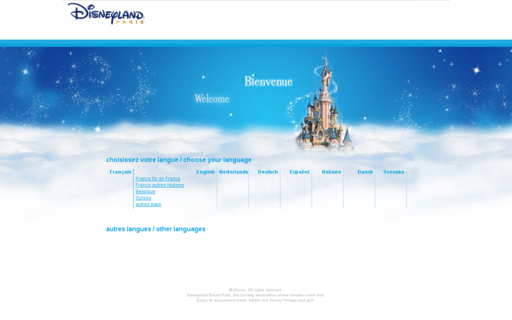 Access disneylandparis.fr using Hola Unblocker web proxy