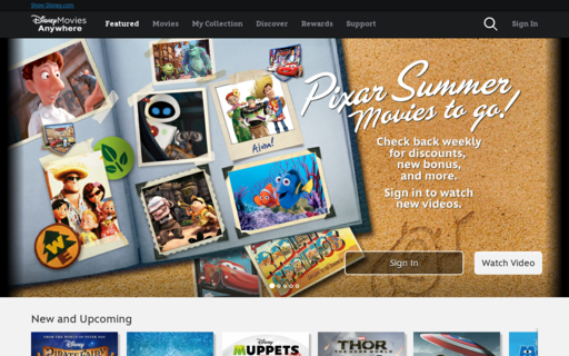 Access disneymoviesanywhere.com using Hola Unblocker web proxy