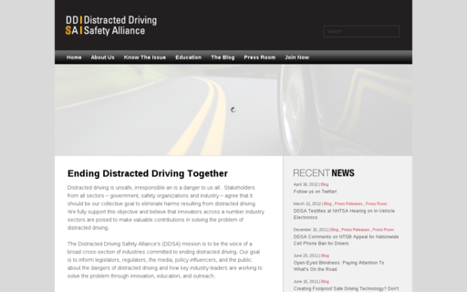 Access distracteddrivingsafetyalliance.org using Hola Unblocker web proxy