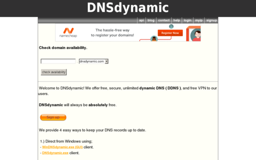 Access dnsdynamic.org using Hola Unblocker web proxy