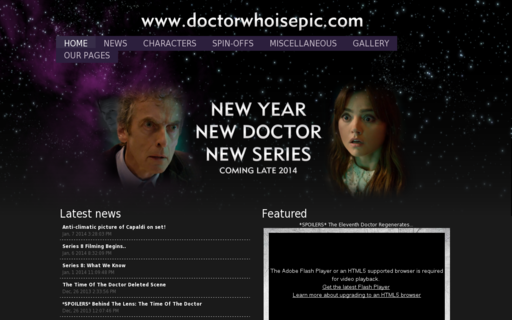 Access doctorwhoisepic.com using Hola Unblocker web proxy
