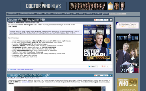 Access doctorwhonews.net using Hola Unblocker web proxy