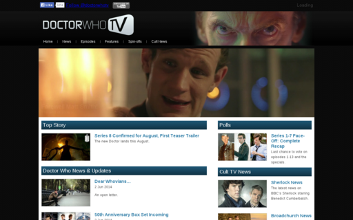 Access doctorwhotv.co.uk using Hola Unblocker web proxy