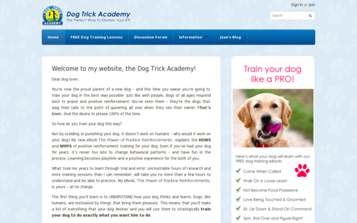 Access dogtrickacademy.com using Hola Unblocker web proxy