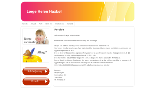 Access doktorhelen.dk using Hola Unblocker web proxy