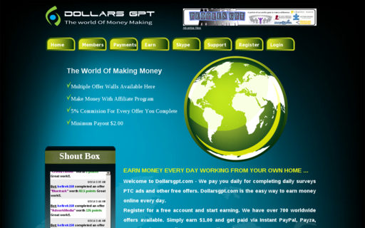 Access dollarsgpt.com using Hola Unblocker web proxy