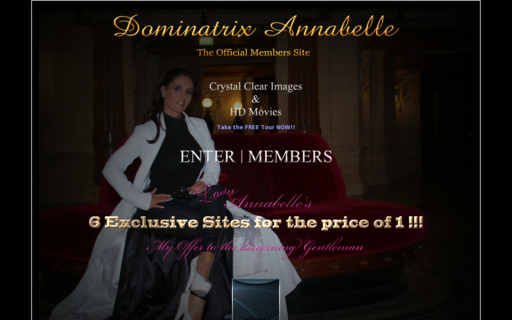 Access dominatrixannabelle.com using Hola Unblocker web proxy