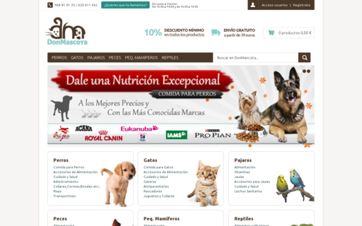 Access donmascota.es using Hola Unblocker web proxy