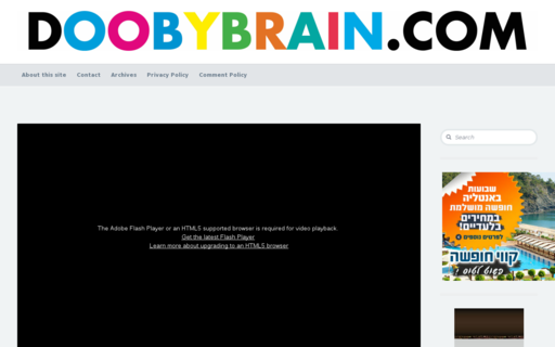 Access doobybrain.com using Hola Unblocker web proxy