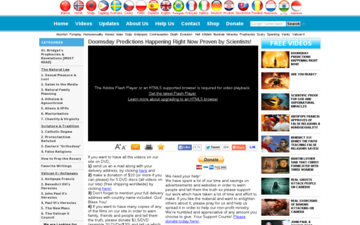 Access doomsdaytube.com using Hola Unblocker web proxy