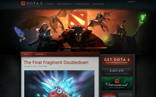 Access dota2.com using Hola Unblocker web proxy