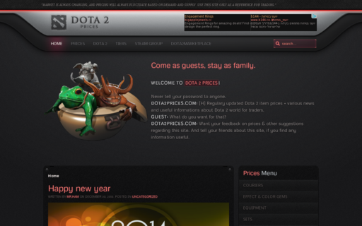 Access dota2prices.com using Hola Unblocker web proxy