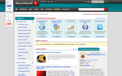 Access download3k.com using Hola Unblocker web proxy