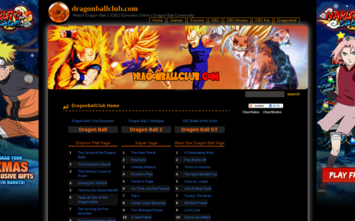 Access dragonballclub.com using Hola Unblocker web proxy