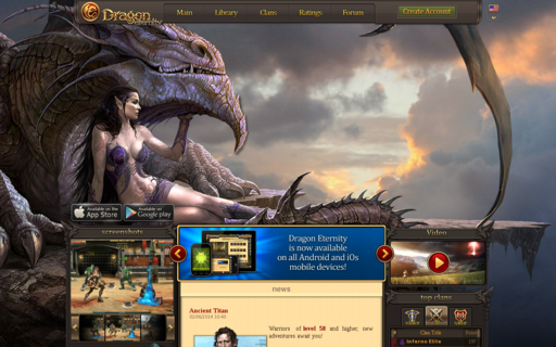 Access dragoneternity.com using Hola Unblocker web proxy