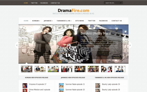 Access dramafire.com using Hola Unblocker web proxy