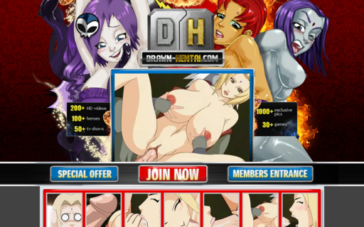 Access drawn-hentai.net using Hola Unblocker web proxy