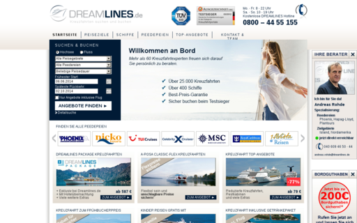 Access dreamlines.de using Hola Unblocker web proxy