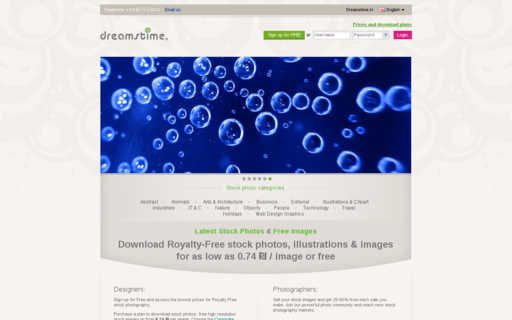 Access dreamstime.com using Hola Unblocker web proxy