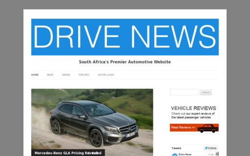 Access drivenews.co.za using Hola Unblocker web proxy