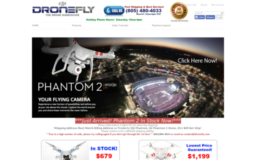 Access dronefly.com using Hola Unblocker web proxy