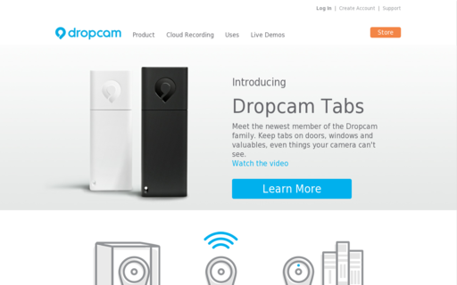 Access dropcam.com using Hola Unblocker web proxy