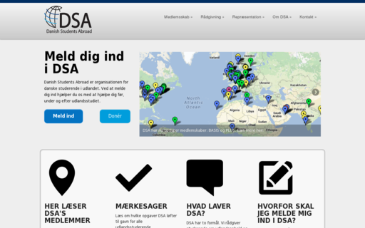 Access dsabroad.dk using Hola Unblocker web proxy