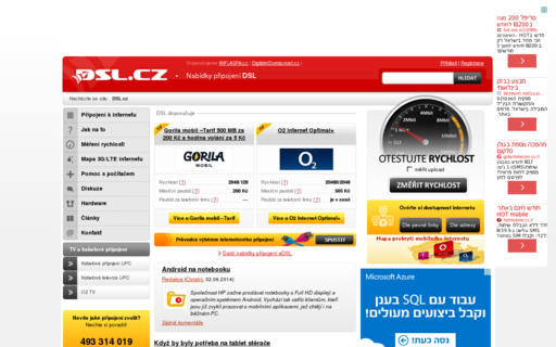 Access dsl.cz using Hola Unblocker web proxy