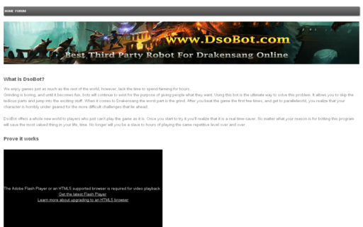 Access dsobot.com using Hola Unblocker web proxy