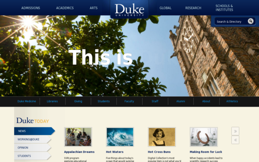 Access duke.edu using Hola Unblocker web proxy