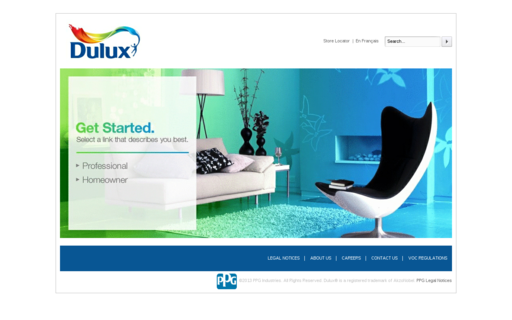 Access dulux.ca using Hola Unblocker web proxy