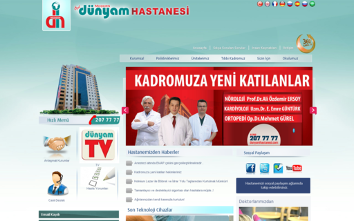 Access dunyamhastanesi.com using Hola Unblocker web proxy