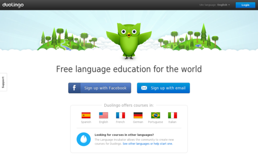 Access duolingo.com using Hola Unblocker web proxy