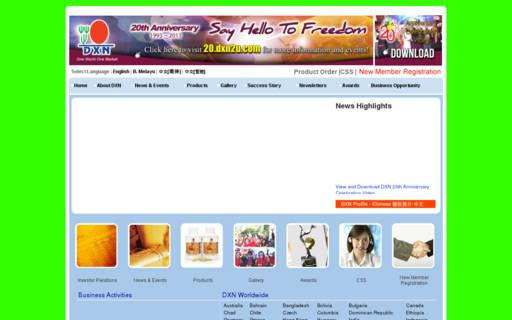 Access dxn2u.com using Hola Unblocker web proxy