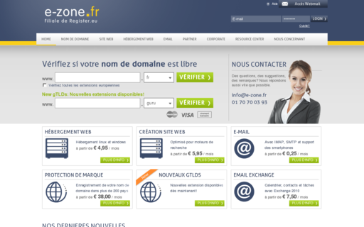 Access e-zone.fr using Hola Unblocker web proxy