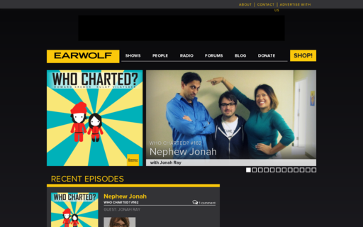 Access earwolf.com using Hola Unblocker web proxy