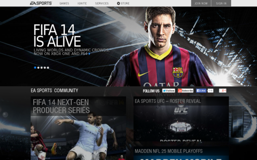 Access easports.com using Hola Unblocker web proxy