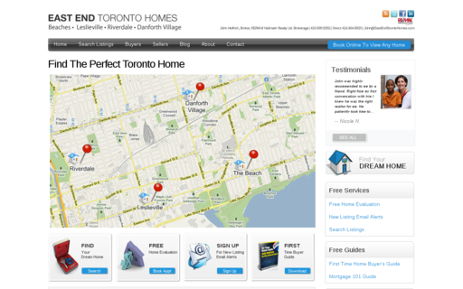 Access eastendtorontohomes.com using Hola Unblocker web proxy
