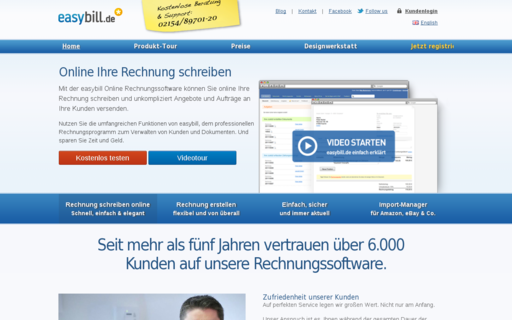 Access easybill.de using Hola Unblocker web proxy