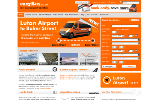 Access easybus.co.uk using Hola Unblocker web proxy