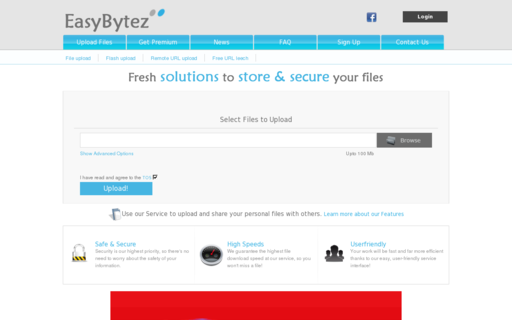 Access easybytez.com using Hola Unblocker web proxy