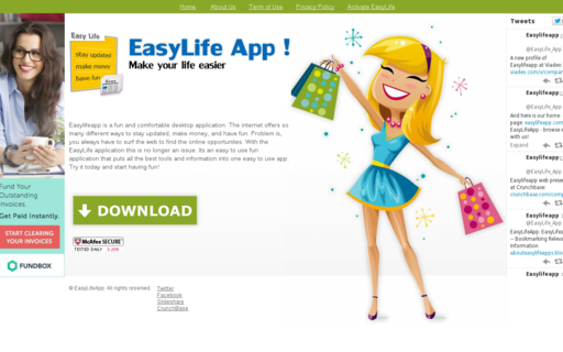 Access easylifeapp.com using Hola Unblocker web proxy